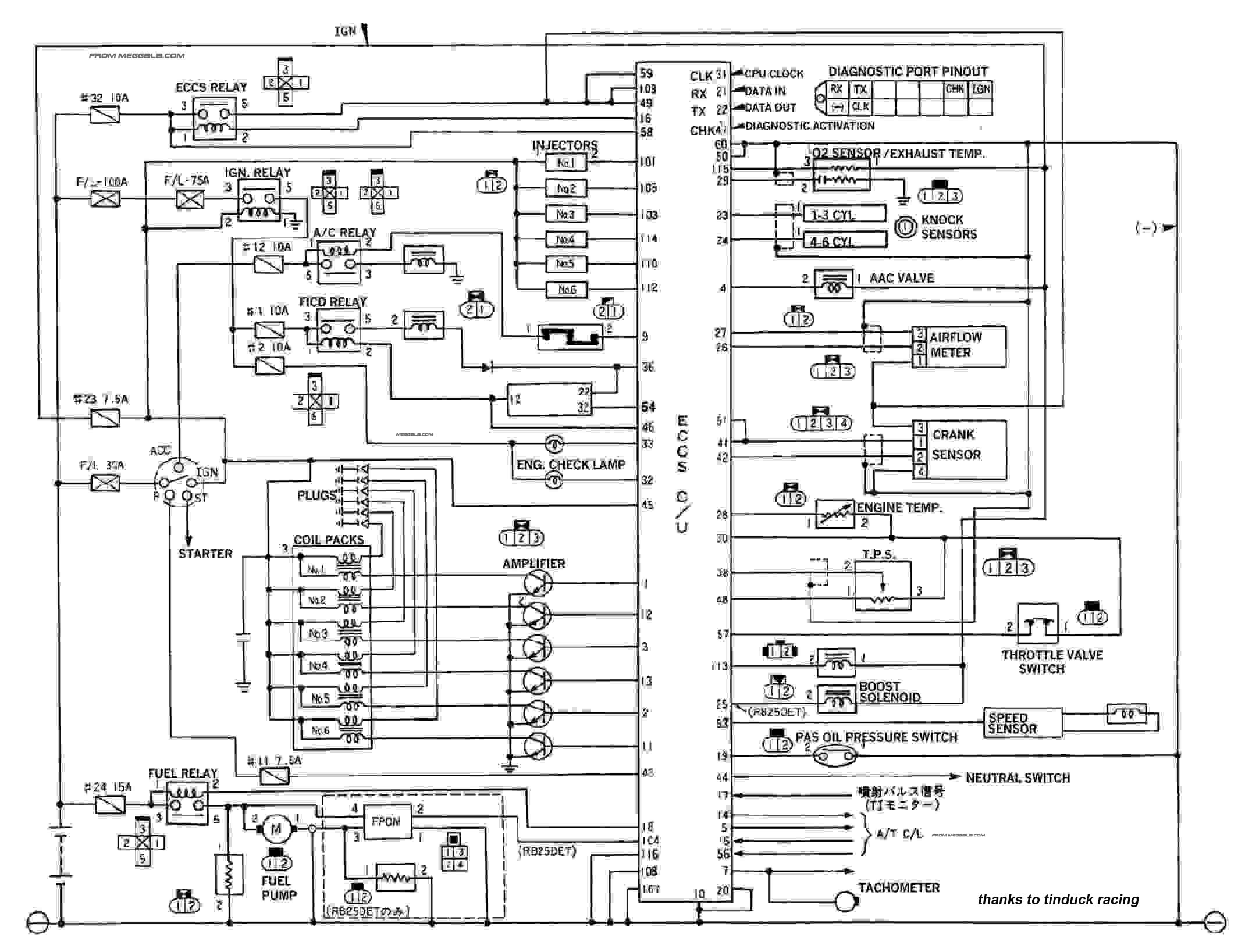S14 Alternator Wiring Diagram : My car care tips and info page trinituner