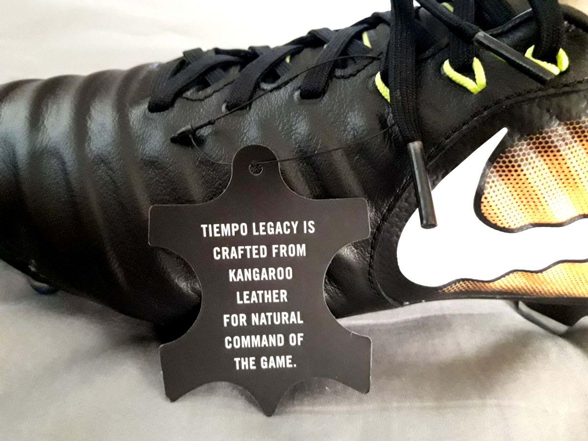 FS  Nike Tiempo Legacy III FG football (soccer) cleats  Kangaroo ... 3465879e4a