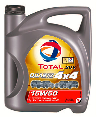 Total SUV & 4x4 Oil