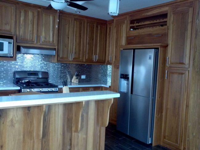 Teak kitchen cabinets trinidad changefifa for Kitchen designs trinidad
