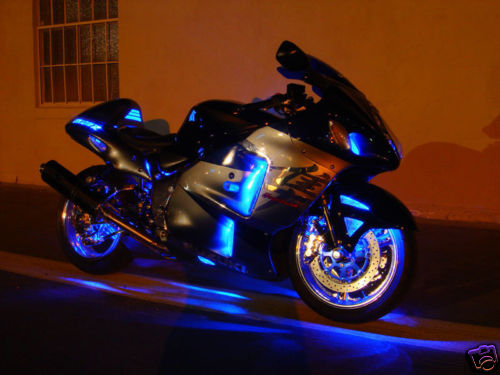 lighting light motorcycle led mysportbikemods lights kits for motorcycles blue product bike home