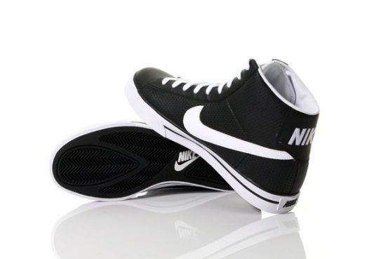 Black And White Nikes High Tops. Nike Sweet Classic High Top