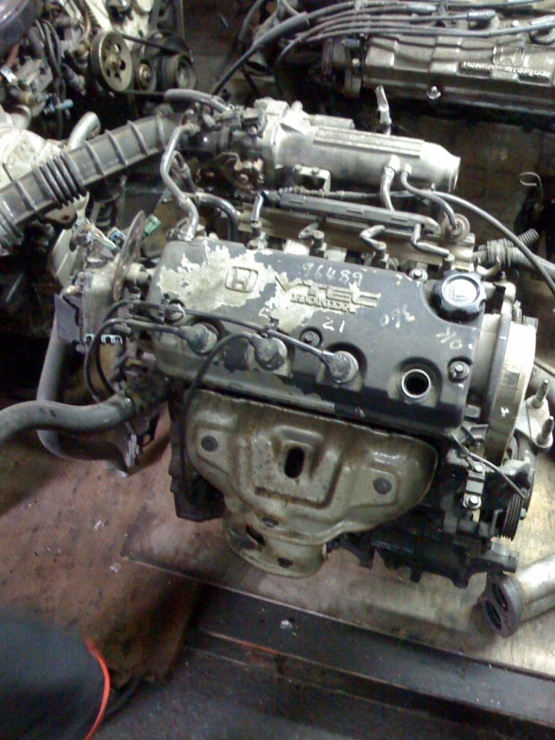 D15b To D15b Vtec Engine Swap