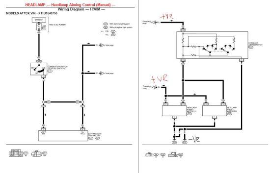oem p11 hid wiring diagram