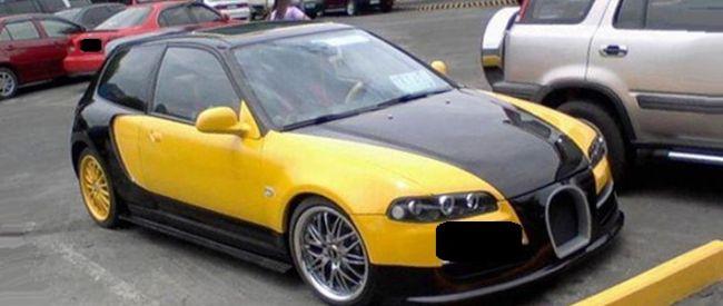 Strange Looking Car With A Eb Logo Trinituner Com