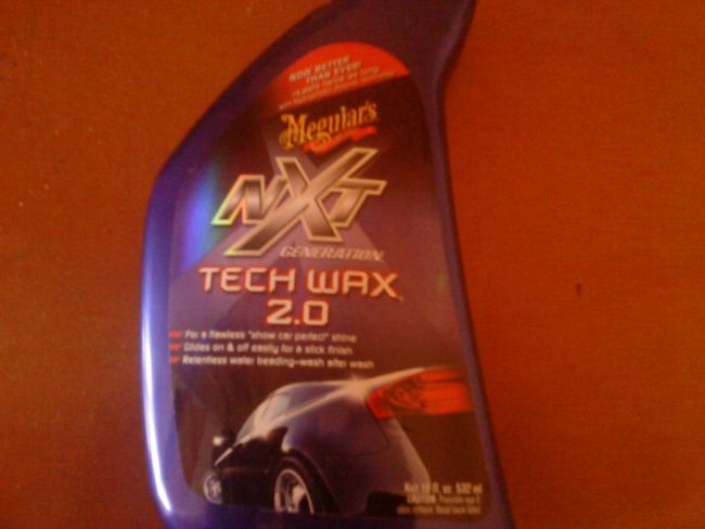 meguiars nxt wax instructions