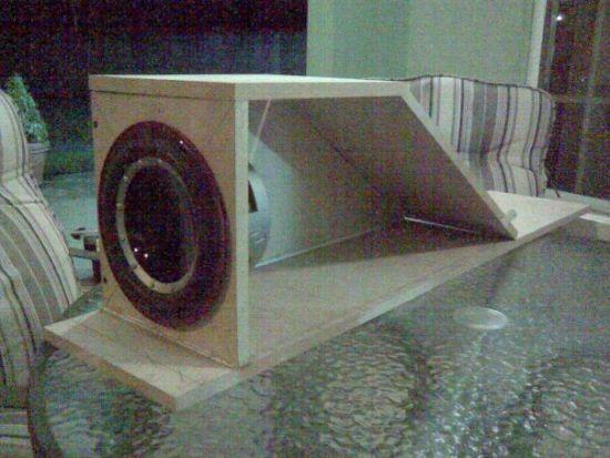 center consile/sub enclourse box build- trinituner com